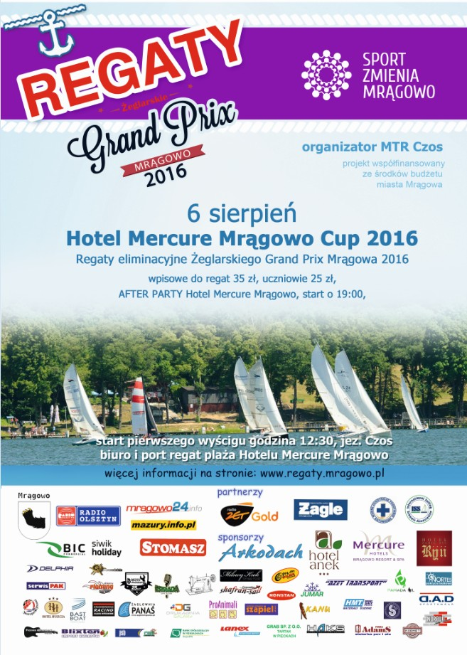 Regaty Hotel Mercury 2016