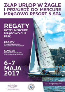 Mrągowo Resort - Plakat A3 Regaty