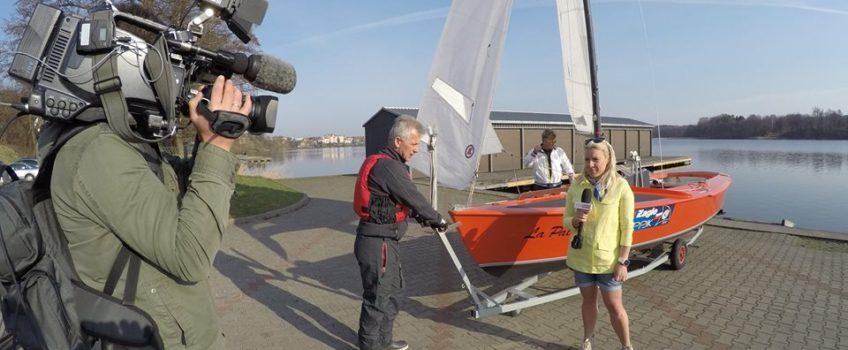 Ekipa TVP Info przedstawia przygotowania do sezonu na Mazurach w Mrągowie